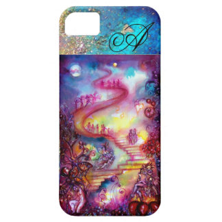 GARDEN OF THE LOST SHADOWS, MYSTIC STAIRS MONOGRAM BARELY THERE iPhone 5 CASE