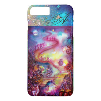 GARDEN OF THE LOST SHADOWS, MYSTIC STAIRS MONOGRAM iPhone 8 PLUS/7 PLUS CASE
