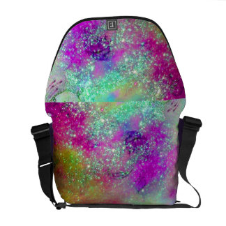 GARDEN OF THE LOST SHADOWS -pink purple violet Commuter Bag