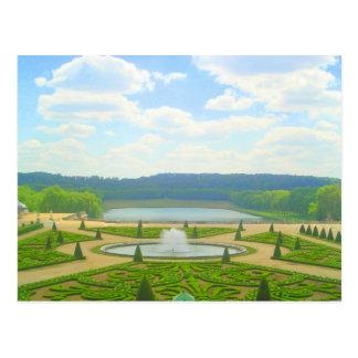 Garden of Versailles Postcard