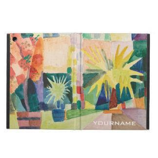 """Garden On Lake Thun"" Art custom monogram cases Cover For iPad Air"