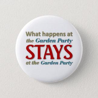 Garden Party 6 Cm Round Badge