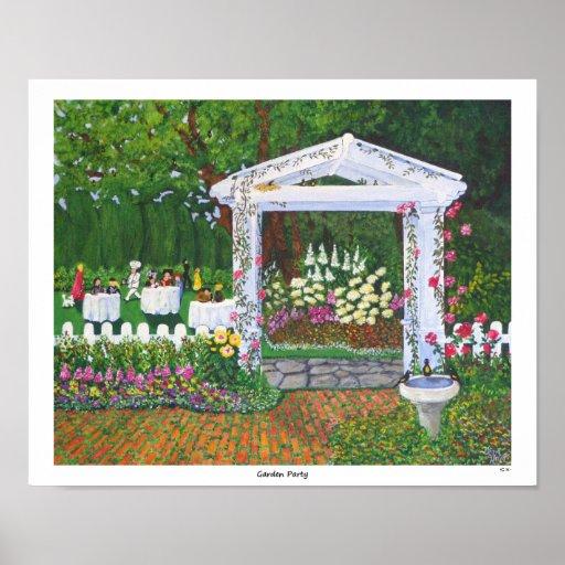 Garden Party Print