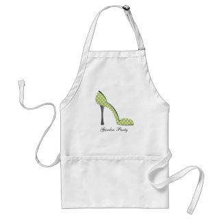 Garden Party Shoe Standard Apron