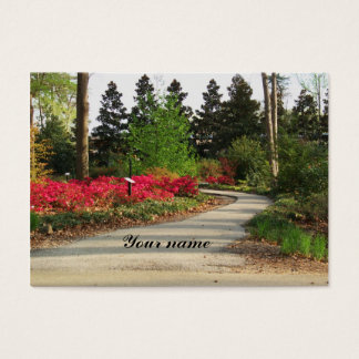 Garden path business card