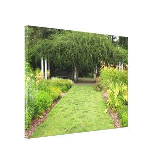 Garden Path Gallery Wrap Canvas