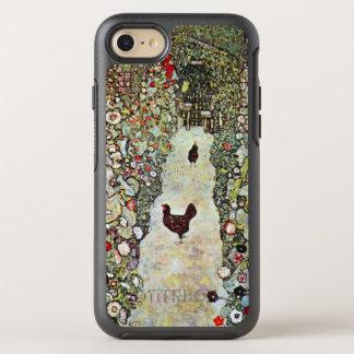 Garden Path w Chickens, Gustav Klimt, Art Nouveau OtterBox Symmetry iPhone 7 Case
