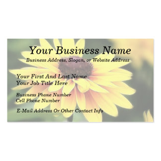 Garden Perfection - Black Eyed Susan Business Cards
