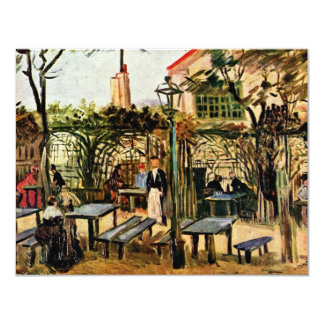 Garden Place On Montmartre (La Guinguette), Card
