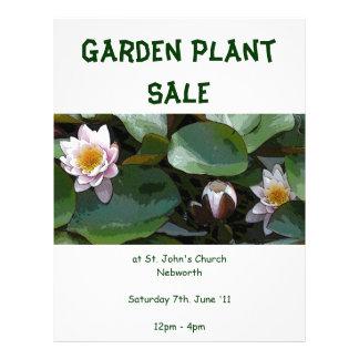 Garden Plant Sale Flyer