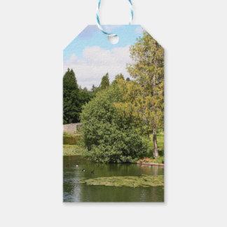 Garden & pond, highlands, Scotland Gift Tags