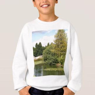 Garden & pond, highlands, Scotland Sweatshirt