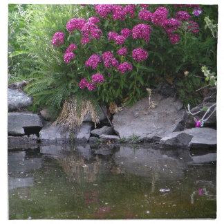Garden Pond in Okanagan area, BC, Canada Napkin