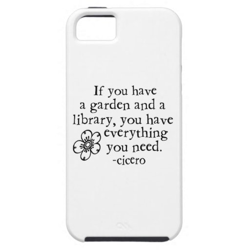 Garden Quotes iPhone 5 Covers