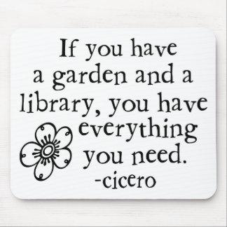 Garden Quotes Mousepad