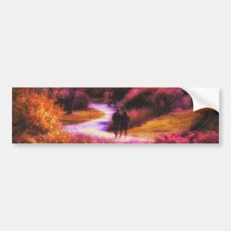 Garden Romance Bumper Sticker