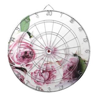 Garden roses dartboard