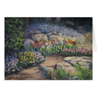 Garden Scene Card
