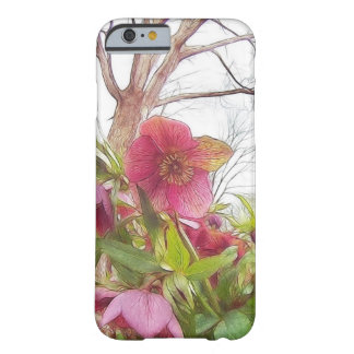Garden Scene - Hellebores And Old Oak Barely There iPhone 6 Case