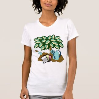 Garden Scene Tshirts