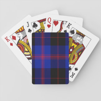 Garden Scottish Tartan Playing Cards