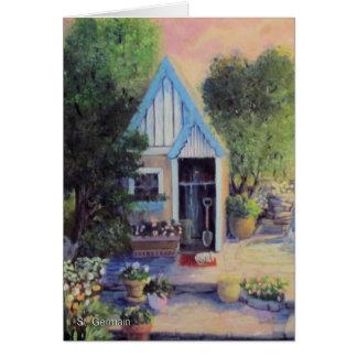Garden Shed Card