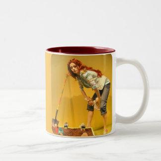 Garden Shoes Cup Two-Tone Mug