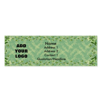 Garden Shop Skinny Business Card