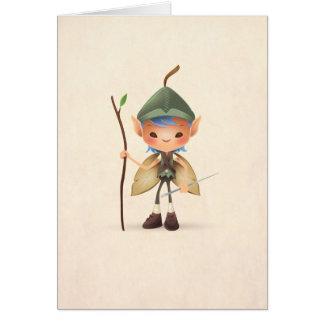 Garden Sprite Greeting Card