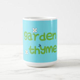 Garden Thyme mug