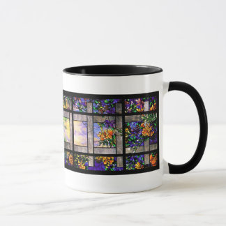 Garden Tiffany Stained Glass Mug