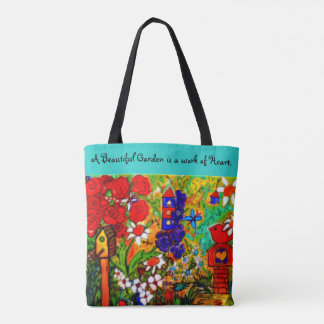Garden tote bag Gardeners Bag, Mother's Day Tote