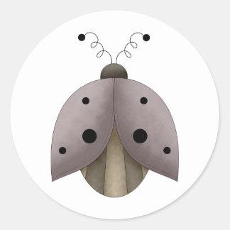 Garden Treasures · Ladybug Classic Round Sticker