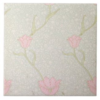 'Garden Tulip' wallpaper design, 1885 Ceramic Tile