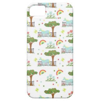 Garden Unicorn Pattern iPhone 5 Case
