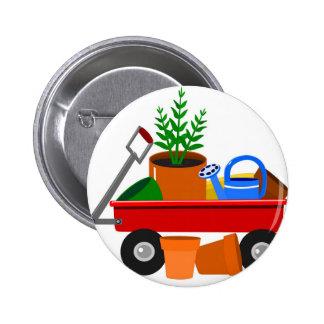 Garden wagon buttons