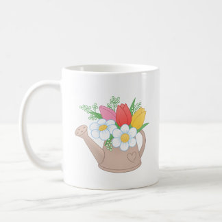 Garden Watering Can with Flowers - Bloom Hope Coffee Mug