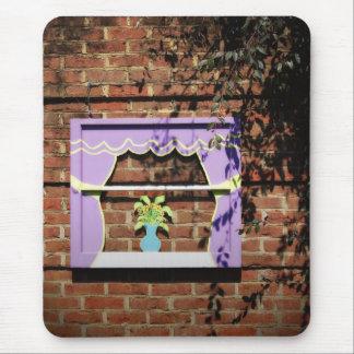 Garden Window Mouse Pad