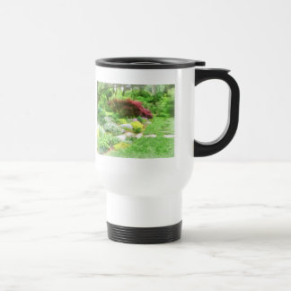 Garden With Japanese Maple Coffee Mugs