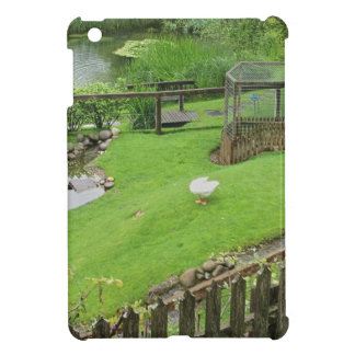 Garden with pond cover for the iPad mini