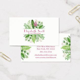 Garden Woods Botanical Business Card
