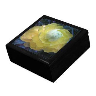Garden Yellow Ranunculus Flower Floral Gift Box