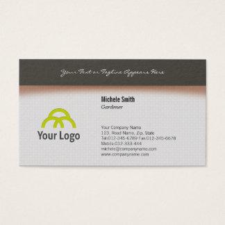 Gardener Business Card Simple Design
