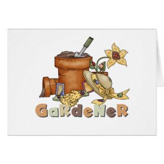 Gardener Card