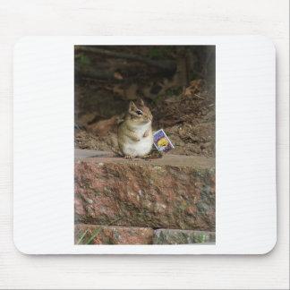 Gardener Chipmunk Mouse Pad