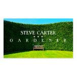Gardener, Florist Business Card