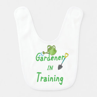 Gardener In Training Bib