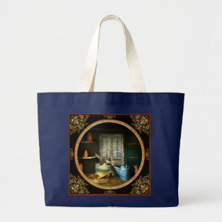 Gardener - The potters shed Large Tote Bag