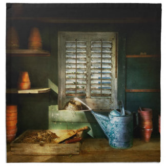 Gardener - The potters shed Napkin
