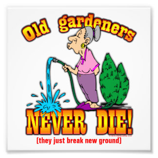 Gardeners Photographic Print